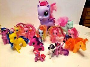 Vintage My Little Pony Lot Of 18 Ebay