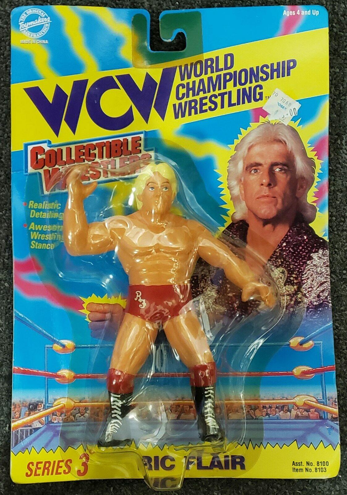 Ric Flair WCW Series 3 Wrestling Figure, WWE NWA World Championship Wrestling