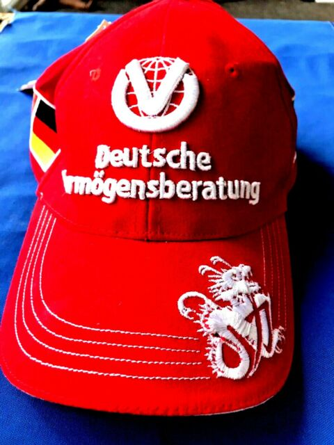 Collectible Ferrari F1 Michael Schumacher cap  New. with tag