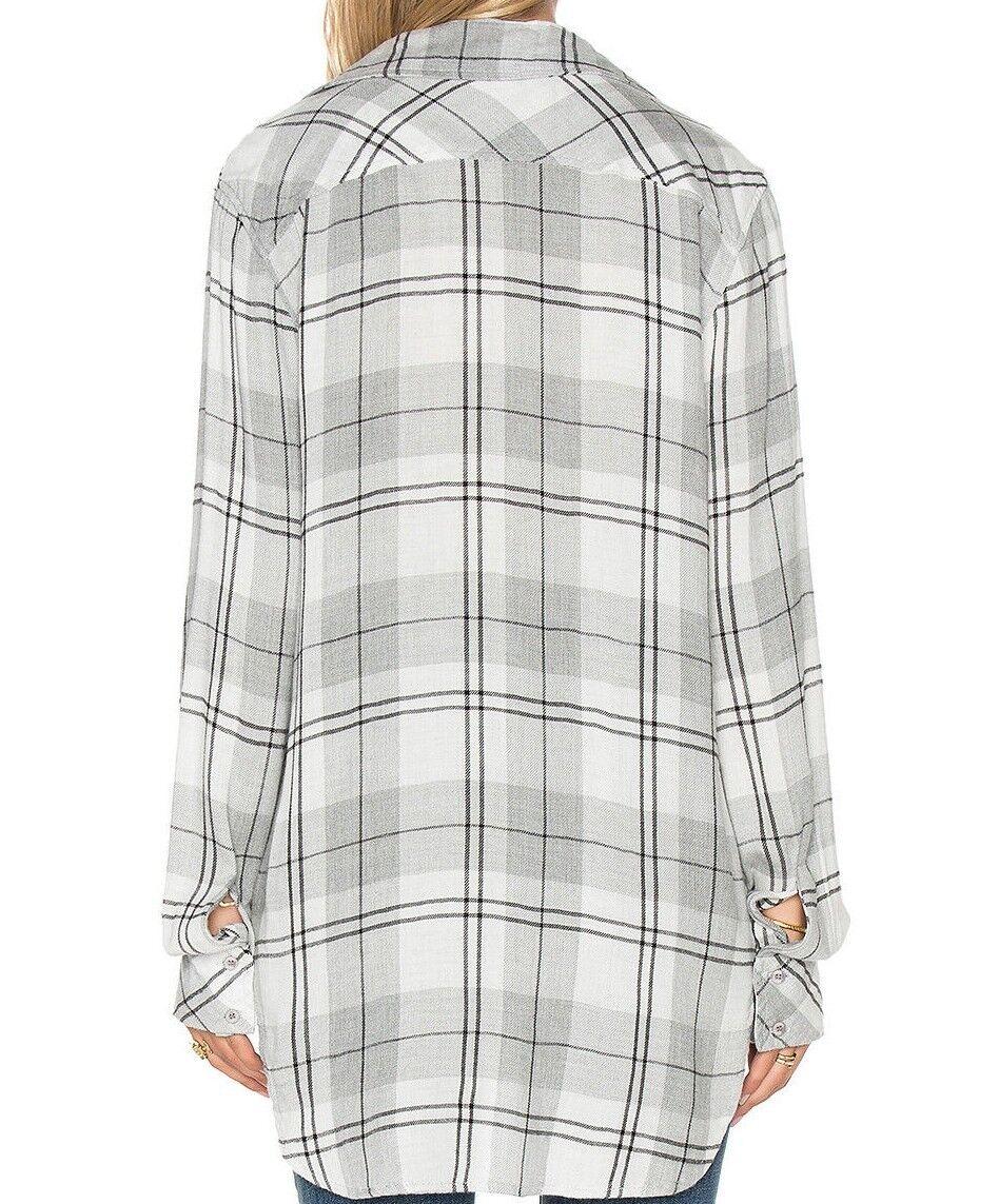 NWT Widow Moncler x Off-bianca bianca Widow NWT T-Shirt in grigio, S 07454b