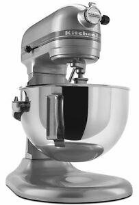 Kitchenaid Pro Stand Mixer 450 W 5 Qt Rkv25goxmc All Metal