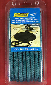 DOCK-LINE-DOUBLE-BRAIDED-NYLON-3-8-034-x-20-039-TEAL-SEACHOICE-39781
