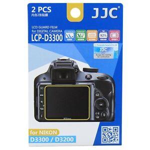 JJC-LCP-D3300-LCD-Screen-Protector-Guard-Film-Cover-for-Nikon-D3300-D3400-D3500
