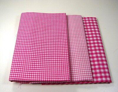 Stoffpaket Pink-Rosa A  Patchworkstoffe Baumwolle Stoffreste  50 x 30 cm NEU !!