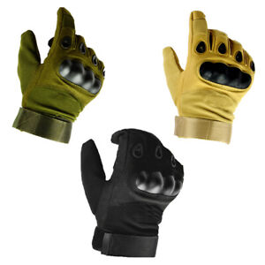 Men-039-s-Tactical-Full-Finger-Gloves-Military-Army-Hunting-Shooting-Hiking-Security