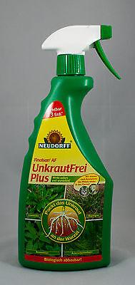 750 ml Neudorff Finalsan AF Unkrautfrei Plus Unkäuter Gras Unkraut Totalherbizid