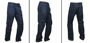 Mens-motorbike-motorcycle-DENIM-TROUSERS-JEANS-with-Protective-lining-039-LUCA-039-gbg