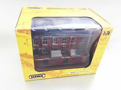 "Scenix ""3 House Terrace"" (red Brick) Em 6008 (brand New) 00 Scale Model Rail Per Farti Sentire A Tuo Agio Ed Energico"