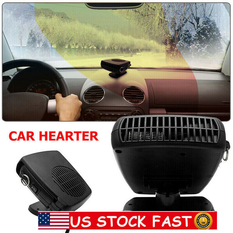 USA STOCK Car Heater Cooling Fan Demister