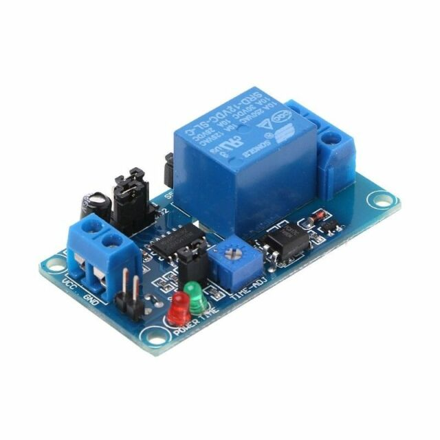 Dc 12v Normally Open Time Delay Relay 250v Ac Turn On  Turn