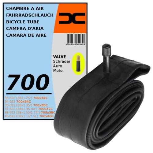 32//40-622 SCHRADER VALVE TYPE 35mm BICYCLE TYRE MTB INNER TUBE 700x32C 40C
