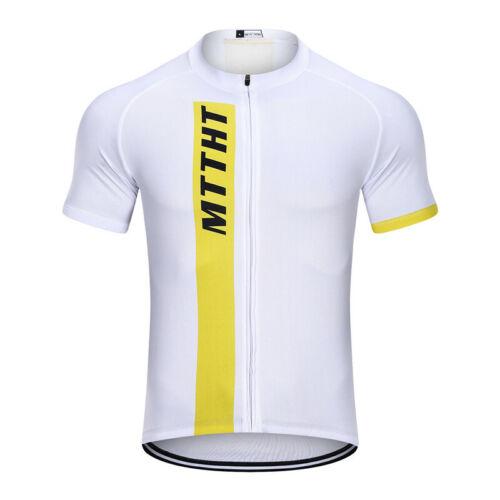 Mttht Men/'s Cycling Jersey Combinaison Vélo Racing 9D Bib Gel Pantalon Set