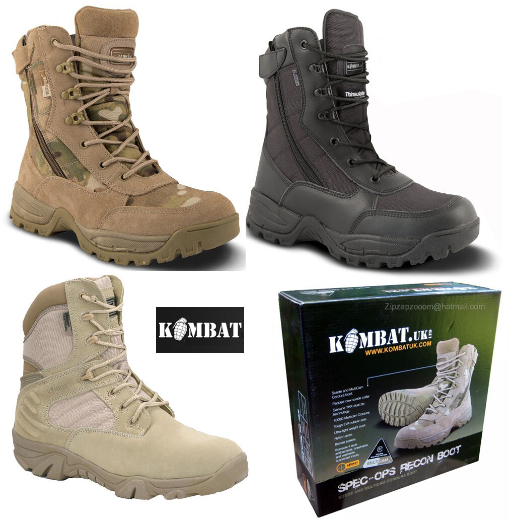 Mens Army Combat Military Patrol Stiefel Special New Forces schwarz Desert Multicam New Special a78674