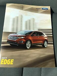 Image Is Loading  Ford Edge  Page Original Sales Brochure