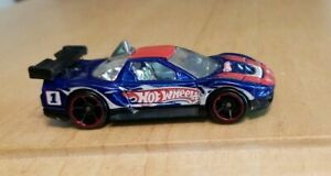 Vintage Hot Wheels Mattel Acura NSX Red White & Blue Sports Rod Collectible Rare