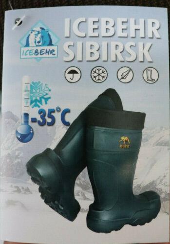 35° Winterstiefel Gummistiefel Innenfutter Icebehr Sibirsk 41-48 Thermostiefel