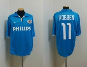 best service 4a99f f039a Details about (L) PSV SHIRT JERSEY ROBBEN HOLLAND BAYERN CHELSEA REAL  MADRID SPAIN ENGLAND