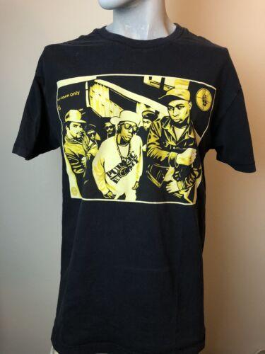 Vintage Obey Public Enemy T-shirt Size L Black