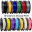 thumbnail 1 - 3D Printer Filament PLA 250 grams, 1.75mm Roll, 13 DIFFERENT COLORS TO CHOOSE