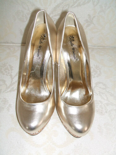 3 Bnwb Shoes Silver Matching Glitter Court Sparkly Metallic Size amp; Or Gold Bag wzr6xPqwg5
