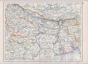 1931 map india north east nepal bihar orissa bengal bhutan image is loading 1931 map india north east nepal bihar amp gumiabroncs Image collections