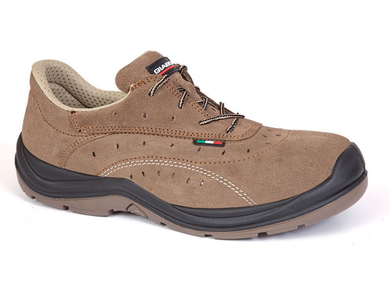 SAFETY SHOES WORKING MADE IN ITALY EXTRA LIGHT ANTI SAND FOOTWEAR ANTISHOCK HEEL