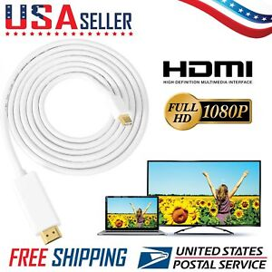 Mini-Displayport-To-HDMI-6-ft-Thunderbolt-Cable-For-Apple-iMAC-Macbook-Air-Pro