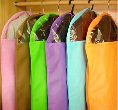 Home Dress Clothes Garment Suit Cover Bags Dustproof Storage Protector 3 Size SH