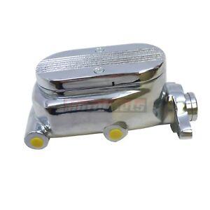 Details about Ball-Milled Chrome Aluminum GM Master Brake Cylinder 1-1/8