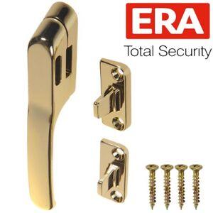 ERA-BRASS-WINDOW-FRAME-FASTENER-Inline-Universal-Wood-Timber-Casement-Handle-Set