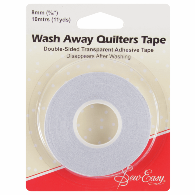 2 Pack 1//4 inch Quilting Sewing Tape Wash Away Tape Each 22 Yard