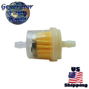 Inline Fuel Filter for Troy Bilt Bronco Tiller 21D-64M7711 21D-64M7766 Gas  | eBayeBay