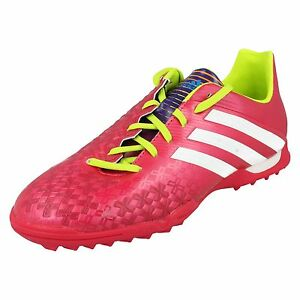 GIRLS-ADIDAS-LACE-UP-SPORTS-FOOTBALL-TRAINERS-BOOTS-SHOES-P-ABSOLADO-LZ-TRX-TF-J