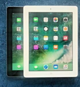 GRADE A/B Apple iPad 4th 16/32/64/128GB, Wi-Fi or 4G, 9.7in, Various Colours