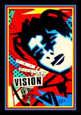 "4.5/"" Vision Mark Gonzales vinyl sticker Vintage style skateboard ad decal."