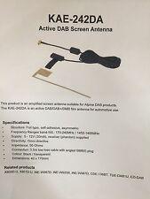 Alpine Kae-242da Latest Dab+ Digital Radio Internal Glass Mount Aerial Antenna