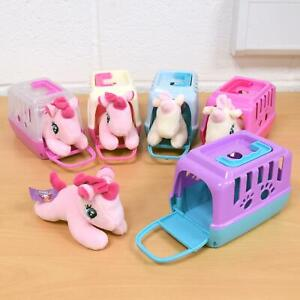 Details about Unicorn Set & Carry Case Toy for Kids Children Role Play Various Random Pet Play