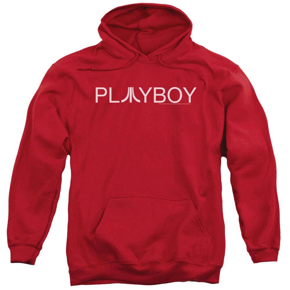 Atari Hoodie Playboy Logo ROT Hoody