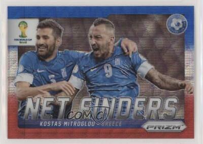 Greece Panini Prizm World Cup 2014 Net Finders # 13 Kostas Mitroglou