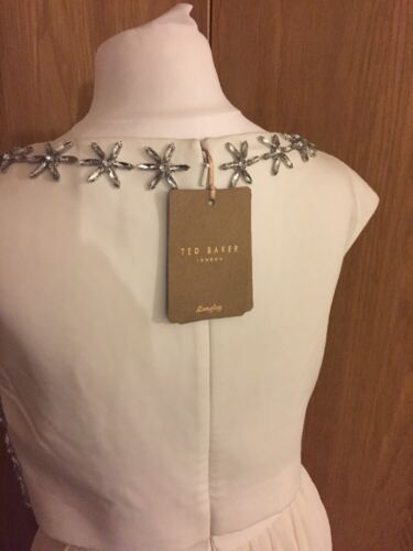 8 Nuovo Ivory Tull Wedding Sz Ted Baker Dress Party 1 qwzxxZ8In