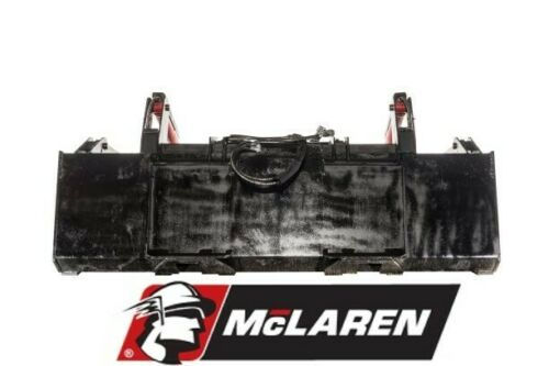 """76/"""" Scrap Grapple Bucket Twin Cylinder Track Loader Attachment for Mustang"""