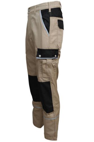 Bundhose khaki Schreiner Berufsbekleidung Arbeitshose Canvas 320 g//m² Gr 42-60