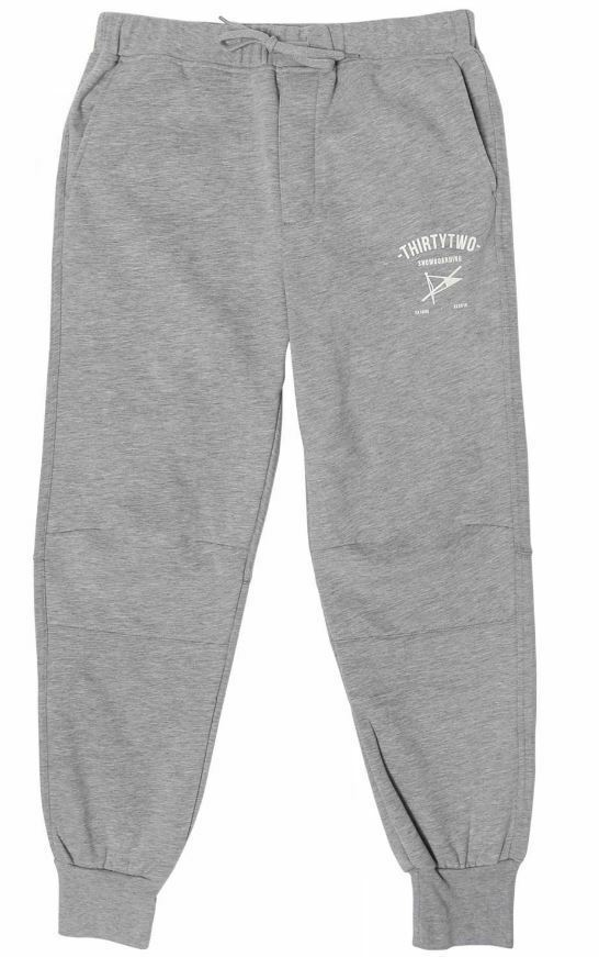 2016 NWT THIRTYTWO PAS TRANSITION TRANSITION TRANSITION SWEAT PANTS  90 M heather grigio water resistant 977c01