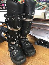 Demonia Boots, Size 10