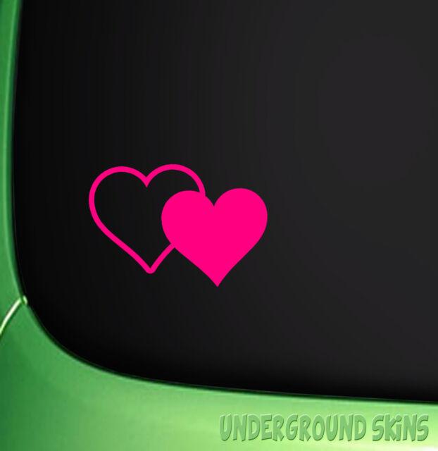heart car sticker funny vinyl decal window sticker vw girl