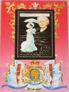 Burkina-Faso-1985-bloque-100-a-Queen-Mother-85th-Birthday-Royals-oro-foil-mnh