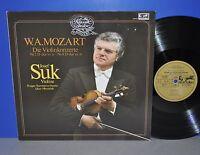 Mozart Die Violinkonzerte Nr. 2 + 4 Josef Suk Libor Hlavacek M- Vinyl LP clean