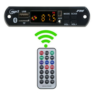 Voiture-Audio-USB-TF-Radio-FM-module-sans-fil-Bluetooth-5-V-12-V-MP3-WMA-decoder-board