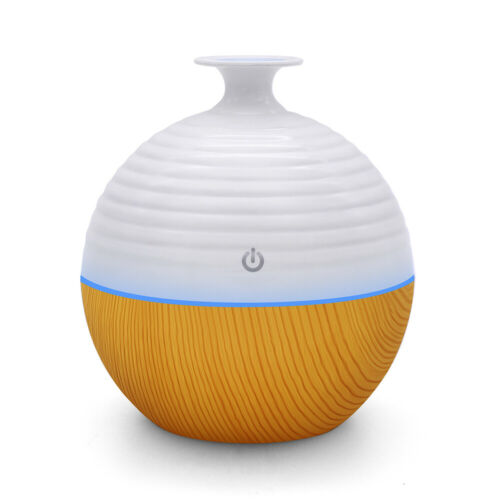 LED Purifier Aromatherapy Ultrasonic Air Diffuser Oil Color Humidifier Aroma USB