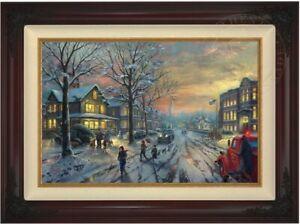 Christmas-Story-18x27-E-P-Canvas-Thomas-Kinkade-Limited-edition